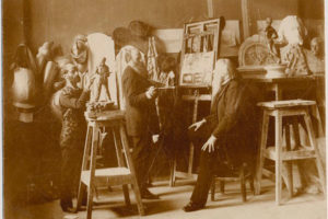 Vereshchagin-i-stasov-in-the-workshop